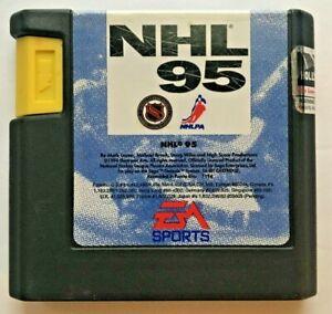 Genesis Sports Game Lot: Loose: NHL 95, 96, Bulls vs Lakers, NBA Showdown 94