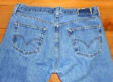 Mens Levis 501 Jeans 36 X 34  Button Fly Medium Wash (36 x 33 actual)