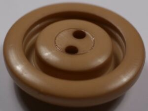 beige round vintage retro coat jacket buttons2 two hole22mm