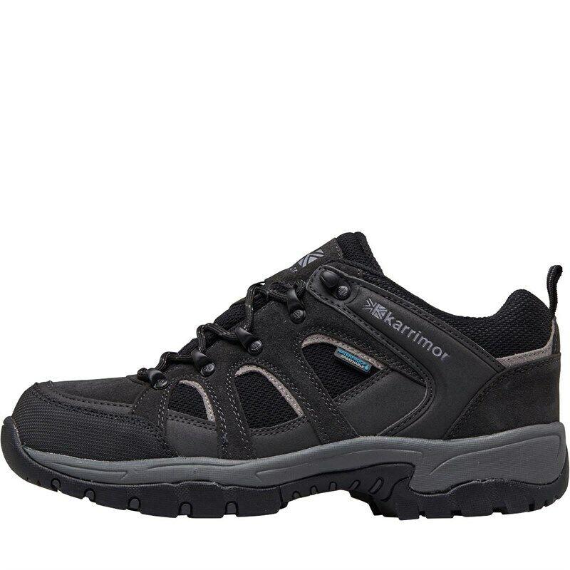Karrimor Bodmin Baja Para Hombre 4 Negro botas Para Excursionismo weathertite Todas Las Tallas
