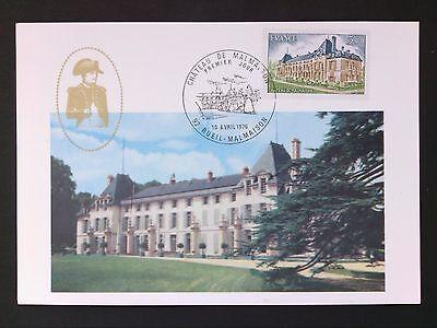 Kind-Hearted France Mk 1976 Chateau Castillo Castle Maximumkarte Carte Maximum Card Mc Cm D56 Specialty Philately