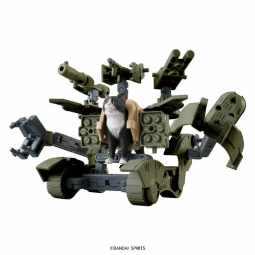 Tudexo Cat in War Ma... Neko Busou Tenko Mori Bandai Fierce War Cats Model Kit
