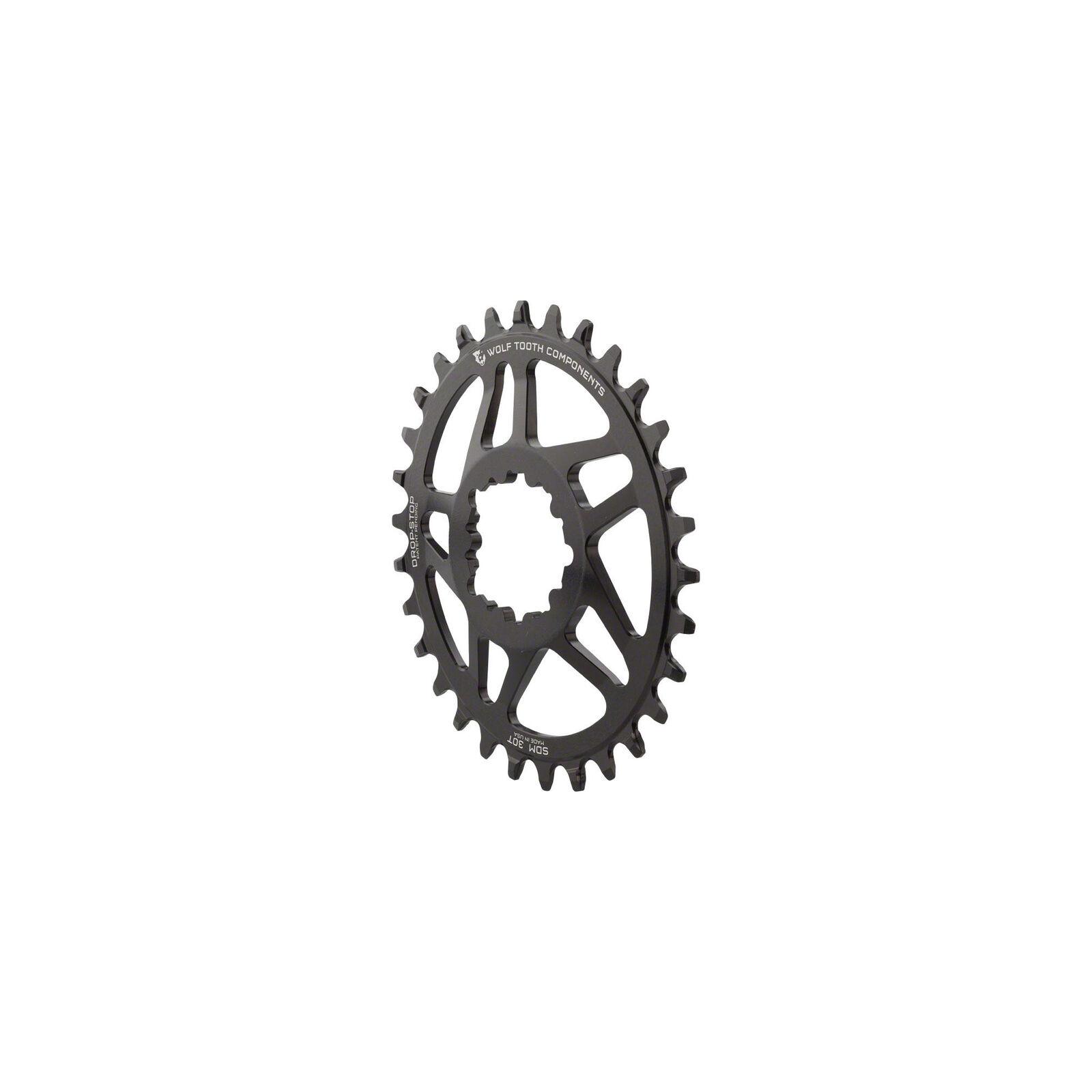 Componentes de diente lobo Drop-Stop Powertrac dm 30t PLATO BB30 0mm Offset