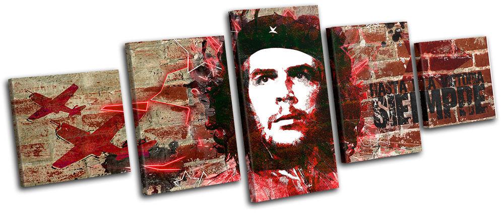 Che Guevara Iconic Celebrities MULTI TELA parete parete parete arte foto stampa f47b16