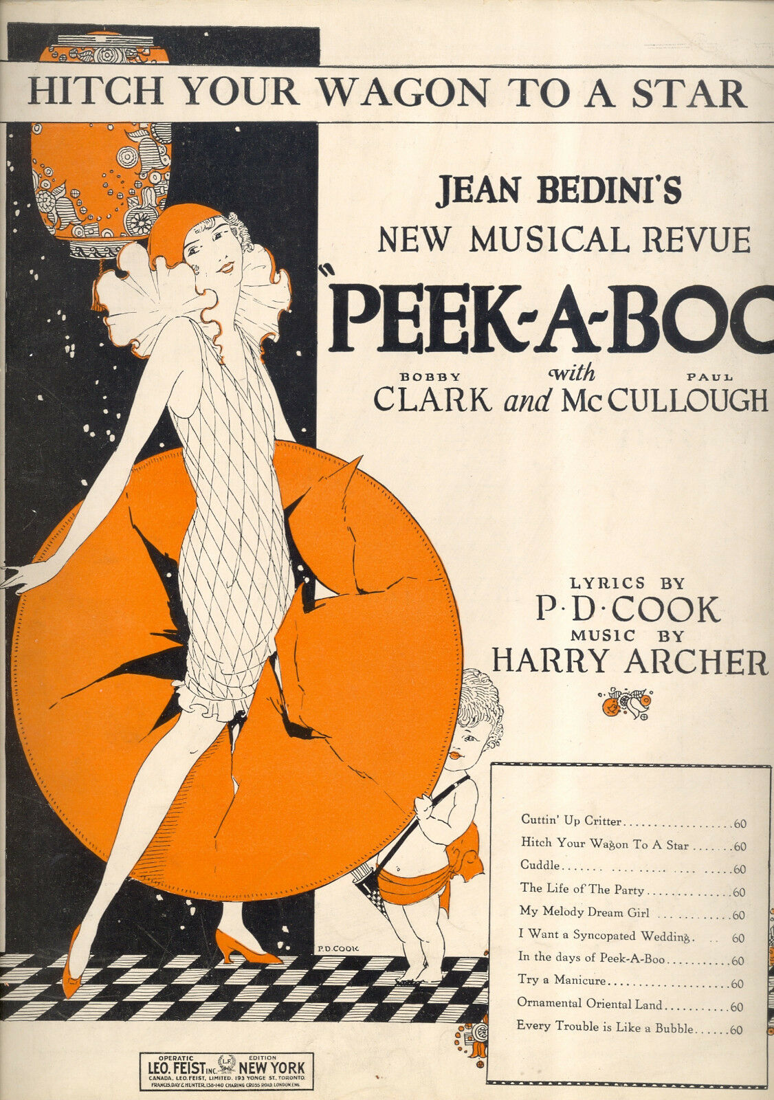 Peek-A-Boo Broadway Flop Show   Hitch Your Wagon auf Star