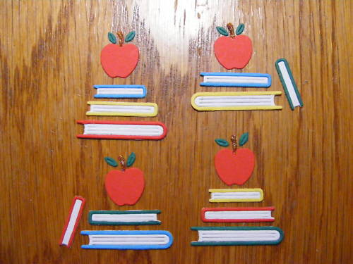 Book Books Apple Revision Study Library Read Reading Die Cuts