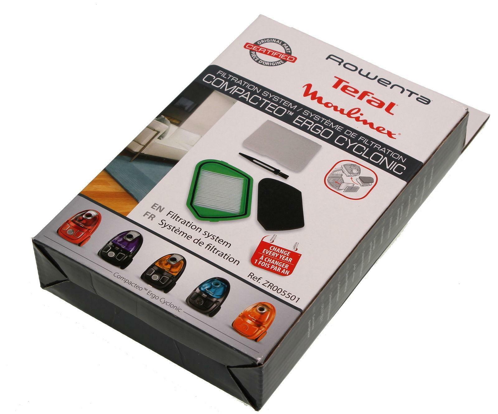 Rowenta ZR005501 HEPA-Filter für RO2544WA RO2561WA RO5342GA RO5353EA, RO5342EA