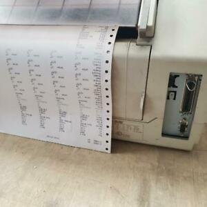 Tally T2040 Dot Matrix Printer 480 cps 24-Pins Parallel  SERIAL  TESTED Canada Preview