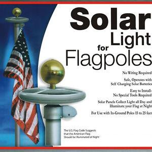 1x neu upgrade solar 26 led fahnenmast licht auto aktiv garten deko leuchte ebay. Black Bedroom Furniture Sets. Home Design Ideas