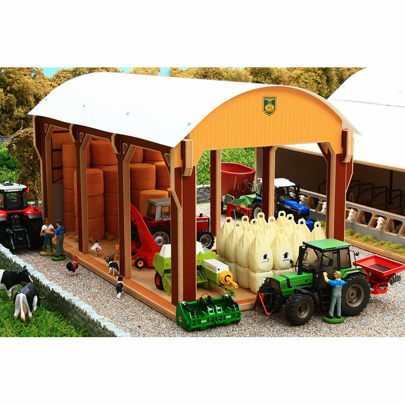 Sottobosco Olandese fieno fienile - 1:32 SCALA Farm Toys BT8975