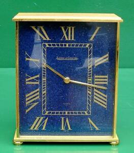 JAEGER-LE-COULTRE-GENEVE-BLUE-FACED-WITH-ORIGIAN-BOX-AND-PAPERWORK-MANTEL-CLOCK