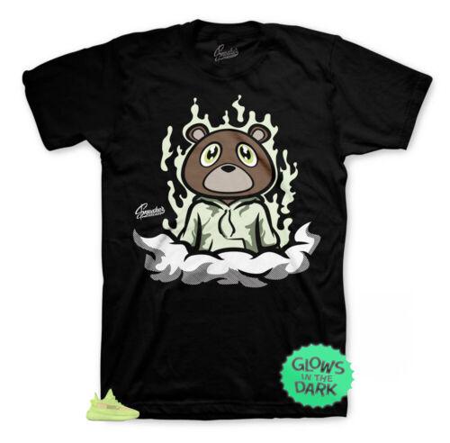 Fly Bear Tee Shirt Match Yeezy Glow In The Dark