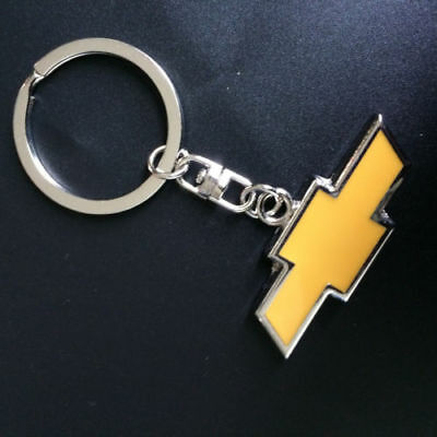 chevrolet Car Logos Titanium Key Chain Car Keychain Ring Keyfob Metal Keyrings