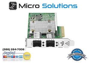 Dell Intel Double Port 10gbe Pci-e 942v6 Ethernet Adaptateur Serveur Ffclnrwt-07182903-369162694