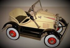 A Light Yellow Pedal Car 1930s Ford Rare T Vintage Sport Midget Show Model