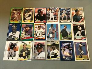 W-Lot-of-125-Mostly-Different-Barry-Bonds-Baseball-Cards-Pirates-Giants