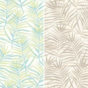 Image Is Loading NEW RASCH PARADISE PALM LEAF PATTERN TROPICAL FLORAL