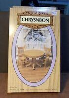 Dollhouse Miniature Table & Chairs Kit By Chrysnbon 1:12 1 Inch Scale E76