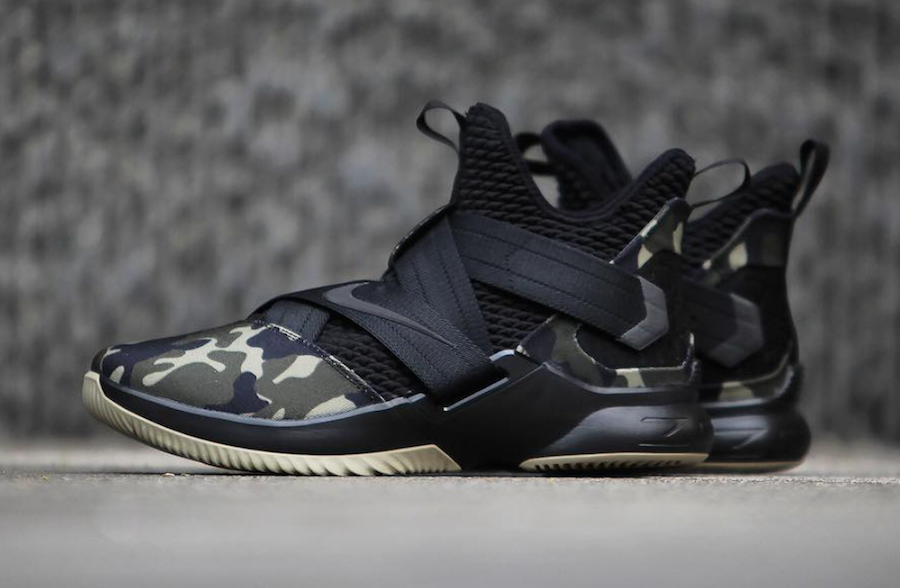 Nike Lebron Soldier 12  Sfg sz sz sz 11  Ao4054 001  basketball shoes 1 2 3 4 5 6 7 8 cf397c