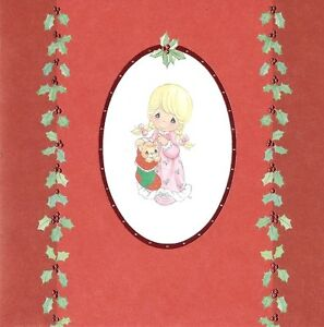 Precious-Moments-Christmas-Cards-2007-Hallmark-Pack-of-18-New-Old-Stock