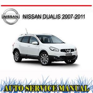 nissan dualis 2007 2011 service repair manual dvd ebay rh ebay com au nissan dualis service manual pdf nissan dualis 2009 owners manual
