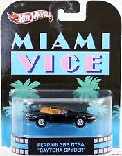 Hot Wheels Ferrari 365 GTS4 Daytona Spyder Miami Vice #X8923 New 2012 Black 1:64