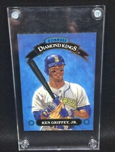 1992-DONRUSS-Ken-Griffey-Jr-Diamond-Kings-DK1-HOF-Mariners-mint