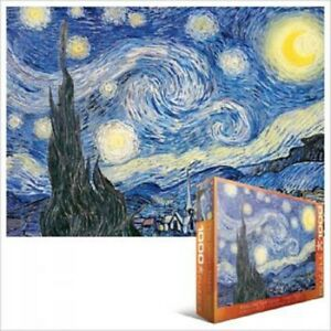 Eurographics Puzzle 1000 Pc - Starry Night / Vincent Van Gogh EG60001204