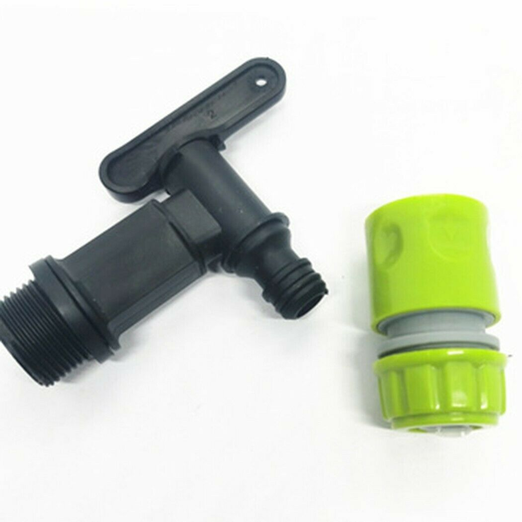 Water Butt Tap Watering Equipment Connector Set Parts Hot New Practical
