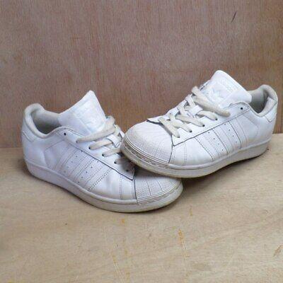adidas superstar white size 4
