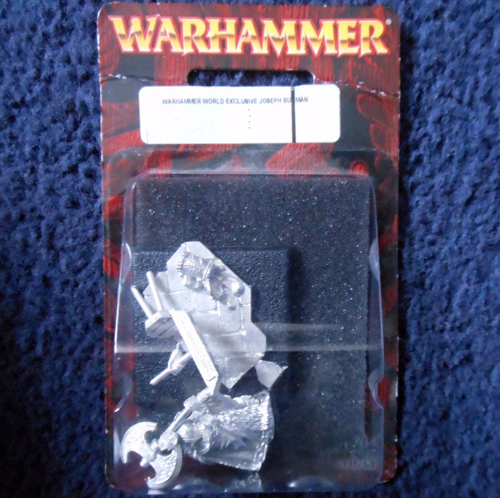 2008 NANI  Warhammer mondo esclusivo Joseph Buguomo Limited edizione Buguomo's Nuovo di zecca con scatola  scelte con prezzo basso