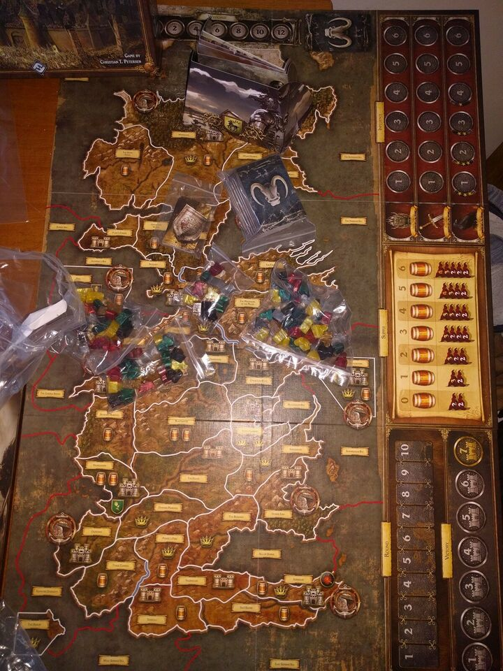 Game of Thrones The board game, 3-6 personers vokse.
