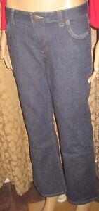 Lands-End-Size-6P-Fashionable-Dark-Jeans