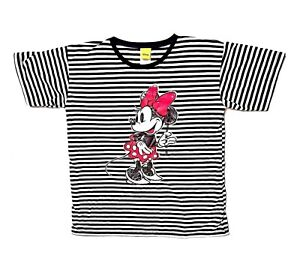 45b763508185 Image is loading Disney-039-s-90th-Anniversary-Minnie-Mouse-Striped-