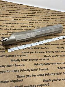 """Iscar GHIR 31.7C-610 Cut-Grip Boring Bar 1.25/"""" Dia Coolant Fed 8/"""" OAL"""