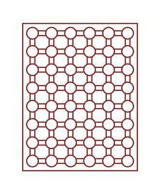 Agressief Lindner 2548 Coin Box-gray / Red Insert