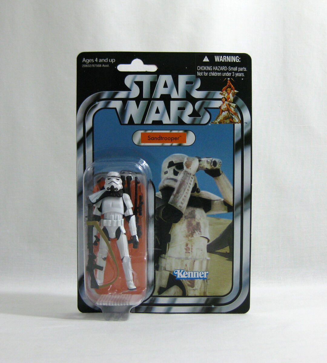 NEW 2010 Star Wars ✧ Sandtrooper ✧ Vintage Collection VC14 MOC