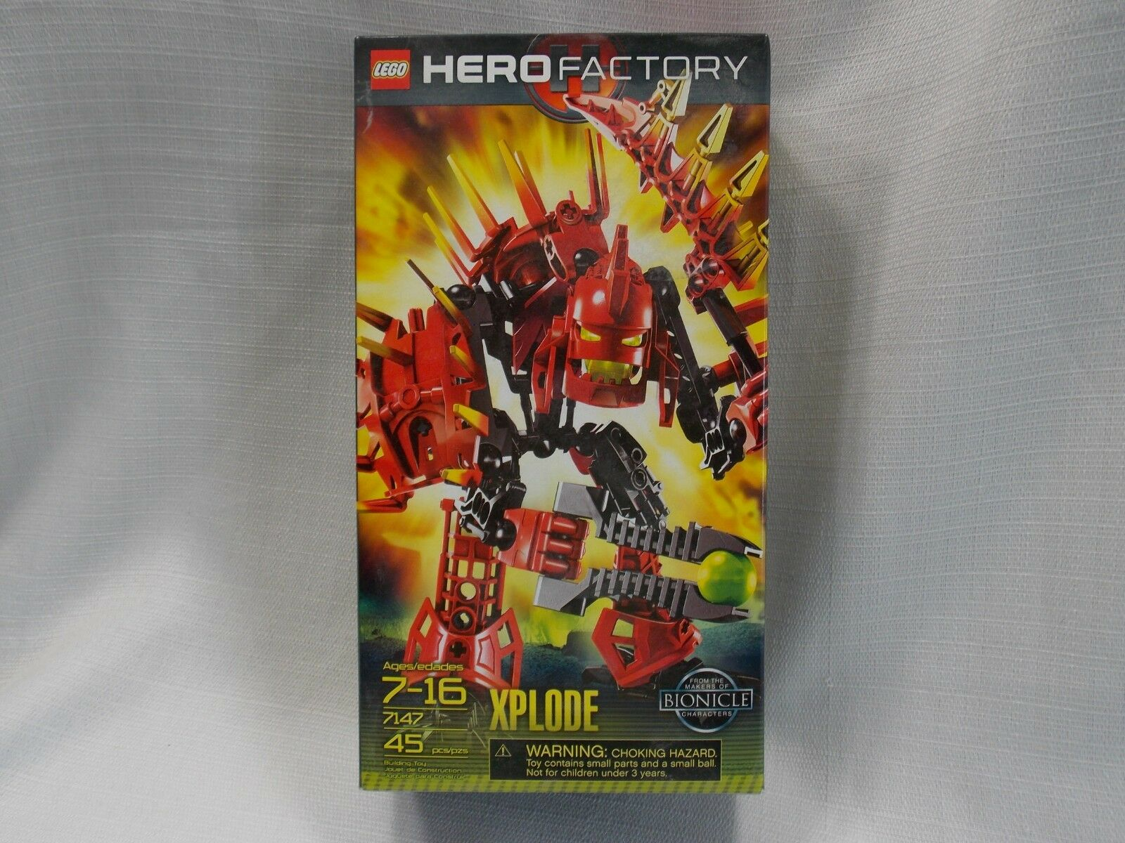 Lego Hero Factory Bionicle 7147 XPLODE New Factory Sealed 2010