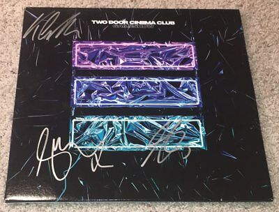 Entertainment Memorabilia Rock & Pop Humor Two Door Cinema Club Signed Autograph Gameshow Vinyl Record Album W/exact Proof Products Are Sold Without Limitations
