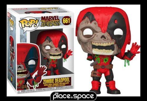 MARVEL Zumbis-Deadpool FUNKO POP #661 Boneco de vinil!