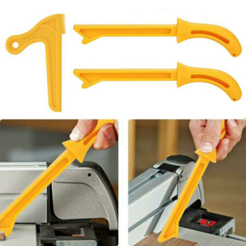 Pusher Druckstange Panel Hobelmaschine Säge Kupplung Gelb ABS Tischler