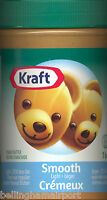 Kraft Peanut Butter From Canada, Creamy Light 25% Less Fat 2-3 Day Ship