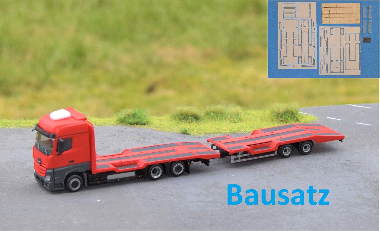 1 87 em104 Kit Construction Tracteur Transporteur Hängerzug pour Herpa Transformation autoconstruction