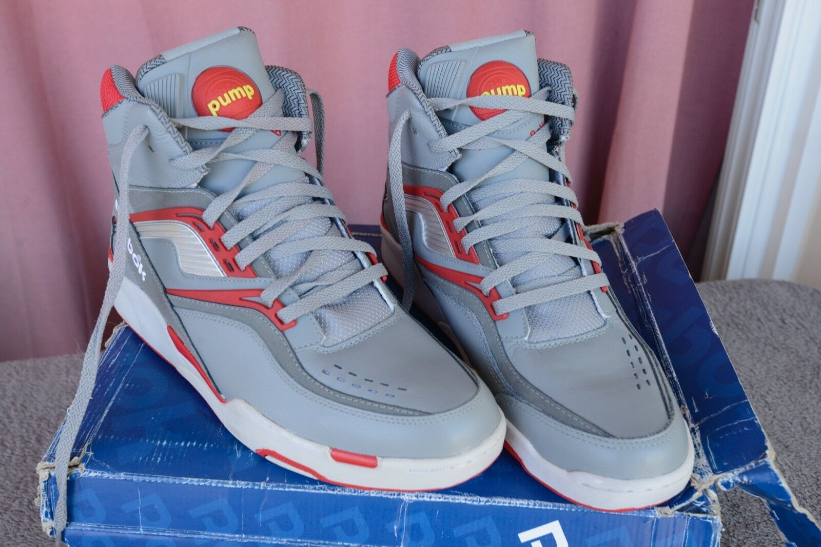 57dc69aad74b Reebok pump twilight zone dominic wilkins V45066 sz 13US 13US 13US 47FR  12UK 9a8fa7