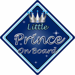 Personalised Child//Baby On Board Car Sign ~ Mummys Little Princesses ~ Pink