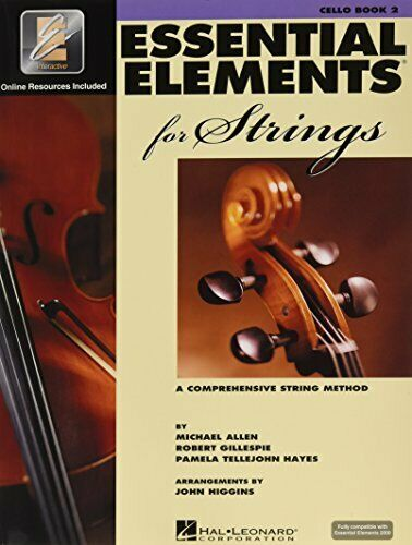 A Comprehensive String Method Cello Book 2 Essential Elements 2000 for Strings