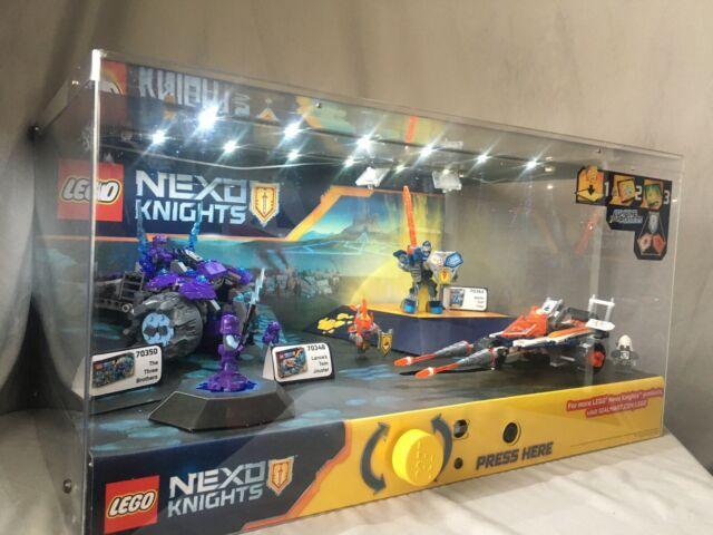 LEGO Nexo Knights Working Interactive Light Up Store Display 70350 70348 70362