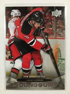 2011-12-Upper-Deck-Young-Guns-Rookie-227-Adam-Larsson-YG-RC-New-Jersey-Devils