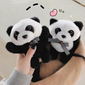 Apple Airpods 1 2 Case Keychain Cute Cartoon Panda Earphone Case