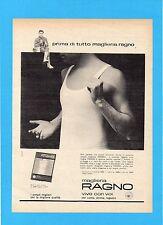 HISTORIA961-PUBBLICITA'/ADVERTISING-1961- RAGNO MAGLIERIA
